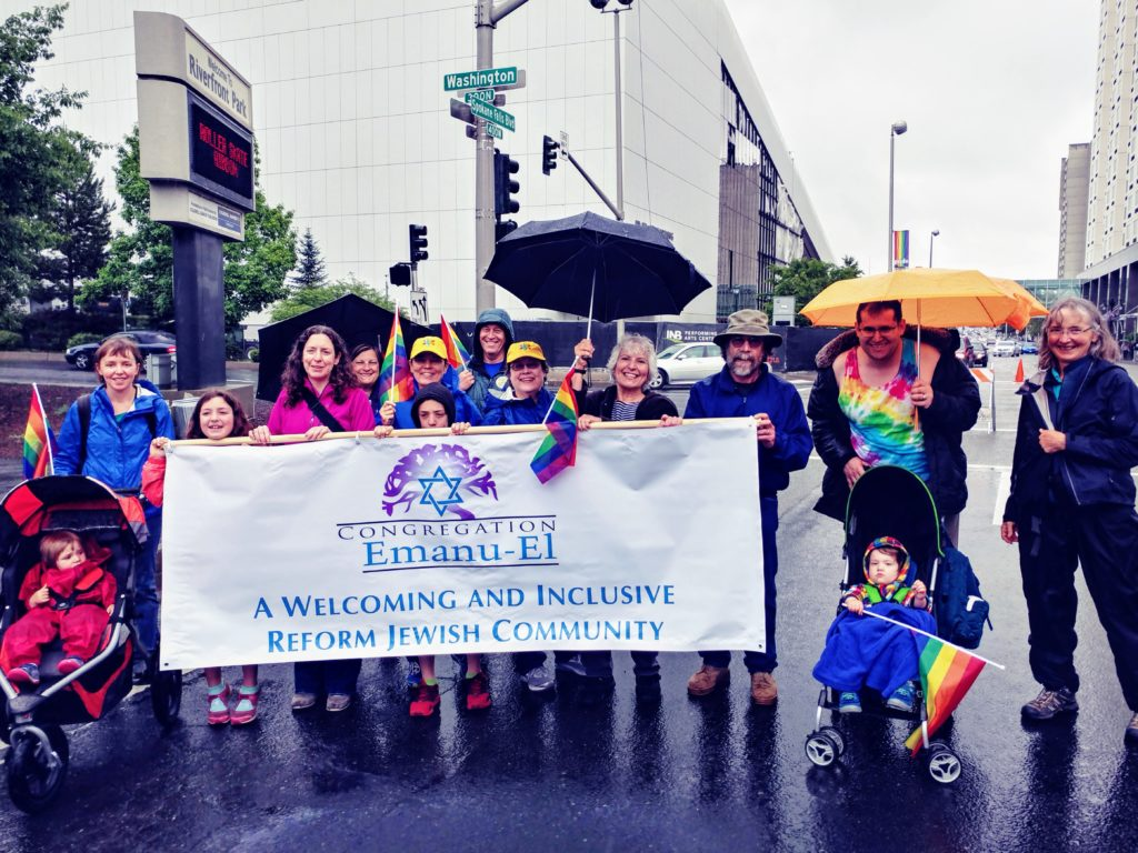 CEE Members at 2018 Spokane Pride Parade